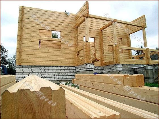 Строительства домов из бруса