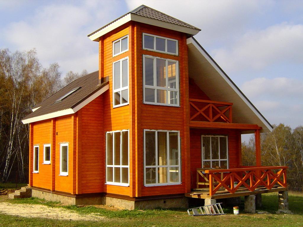 Деревянные дома бруса